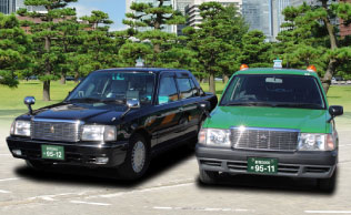 タクシーカラー例